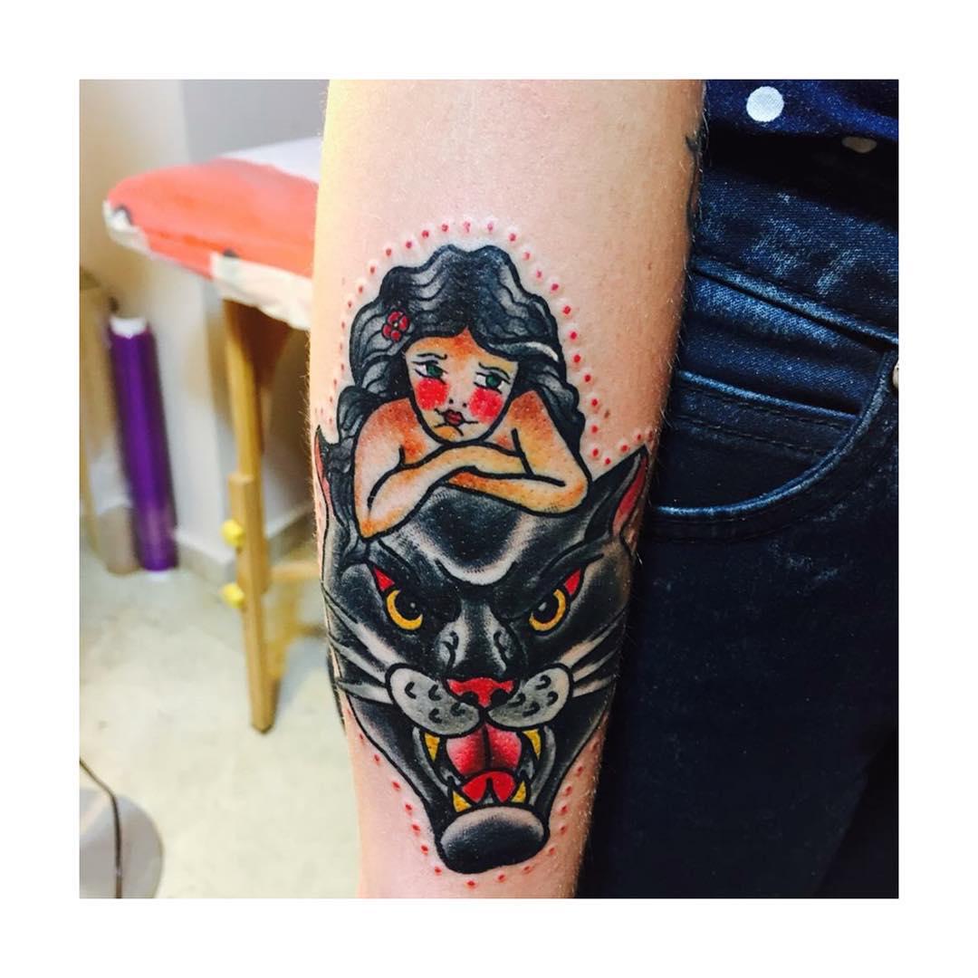 artwork,oldschool,tattoos,pantera,juantabasco,tattoos