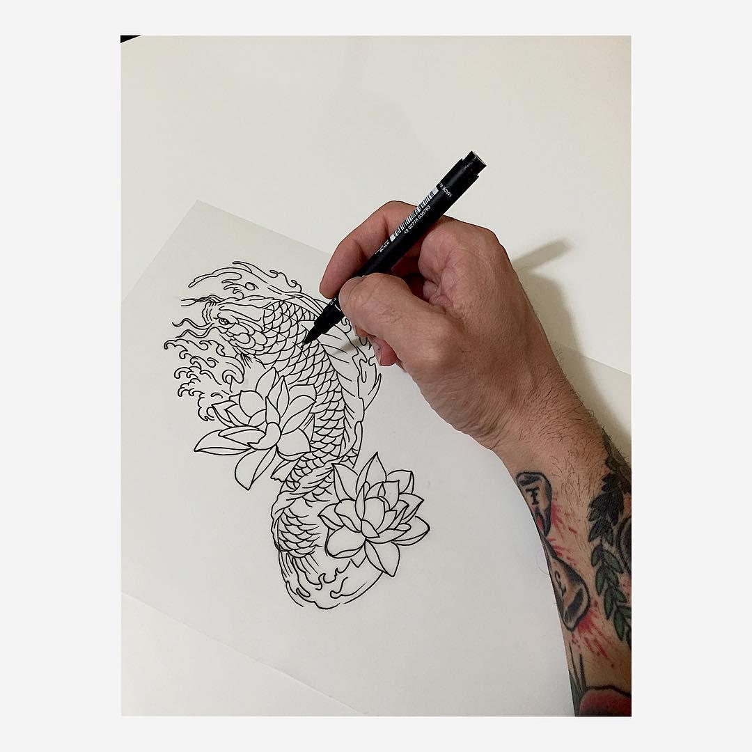 carpa,art,artist,artistattoo,draw,drawing,tatoo,juantabascotattooerciudadreal,juantabascotattooer,juantabasco,tatuaje,tattooart,tattooartist,tatuajesenciudadreal,tatuajesenfotos,ink,inks,inked,inkart,inklife,koi,ciudadreal,spaintattoo,spaintattooink
