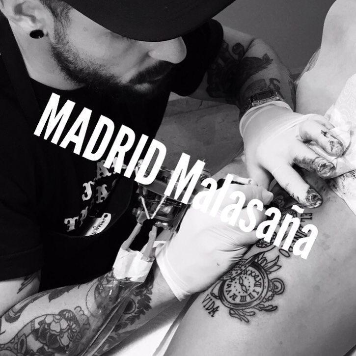 madrid,tattooart,oldschooltattoo,traditionaltattoo,malasa,followme,follow4follow,metrotribunal,linner,oldlines,music,friend,tattoogirl,bestattooers