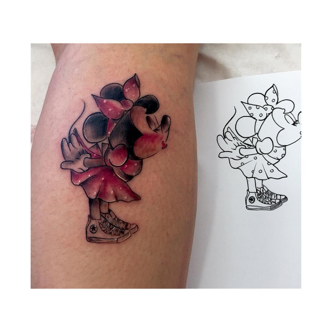 tattoo,tattoos,tatooo,series,freak,disney,minie,mickie,personajesdisney,paris,paristattoo,disneyland,shop,tattooart,tattooartists,machinetattoo,oldchool,trabajoduro,tatuador,italy,italytattoo,berlintattoo,americantattoo,thisistattoo,blakandgreyisback,conversetattoo,pinup