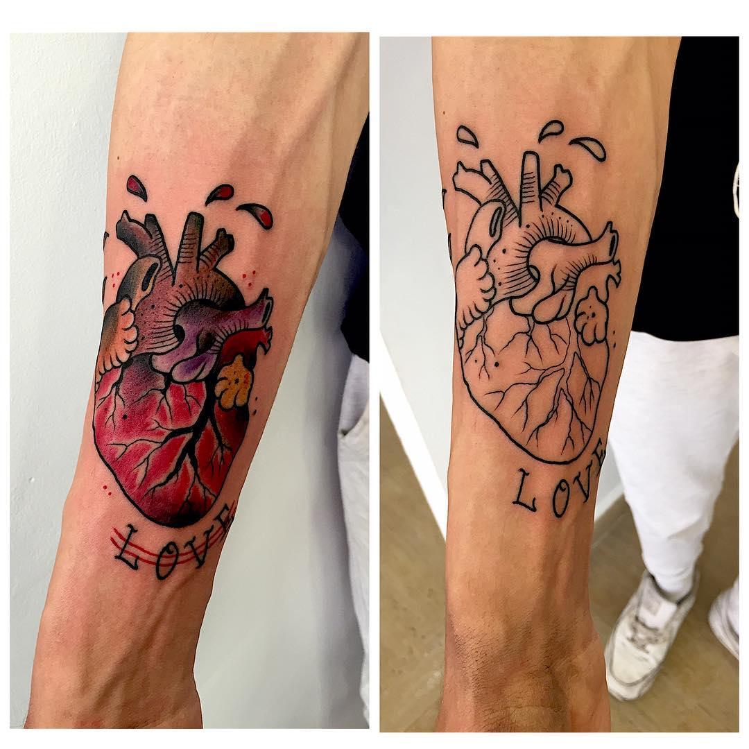 tattoo,tatuaje,juantabasco,juantabascotattooer,juantabascotattooerciudadreal,oldschooltattoo,customtattoos,tradicionaltattoo,tattooshop,design,followme,thisiscolor,heart,like4like,solid,ink,inked,inklife,artist,artoftheday,linner