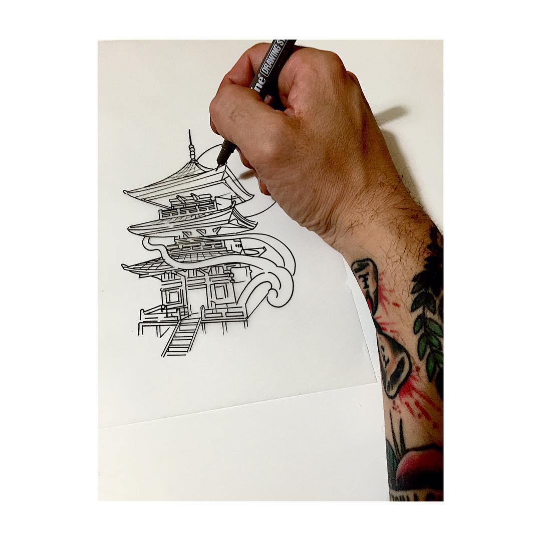 tattoo,templo,tattoos,tattooartist,tattooink,tattooflash,juantabascotattooer,juantabascotattooerciudadreal,oldschooltattoo,tradicionaltattoo,japanesetattoo,japanese,flash,linner,design,designtattoo,art,artwork,artoftheday,artist,blackandgrey,black,blackandwhite