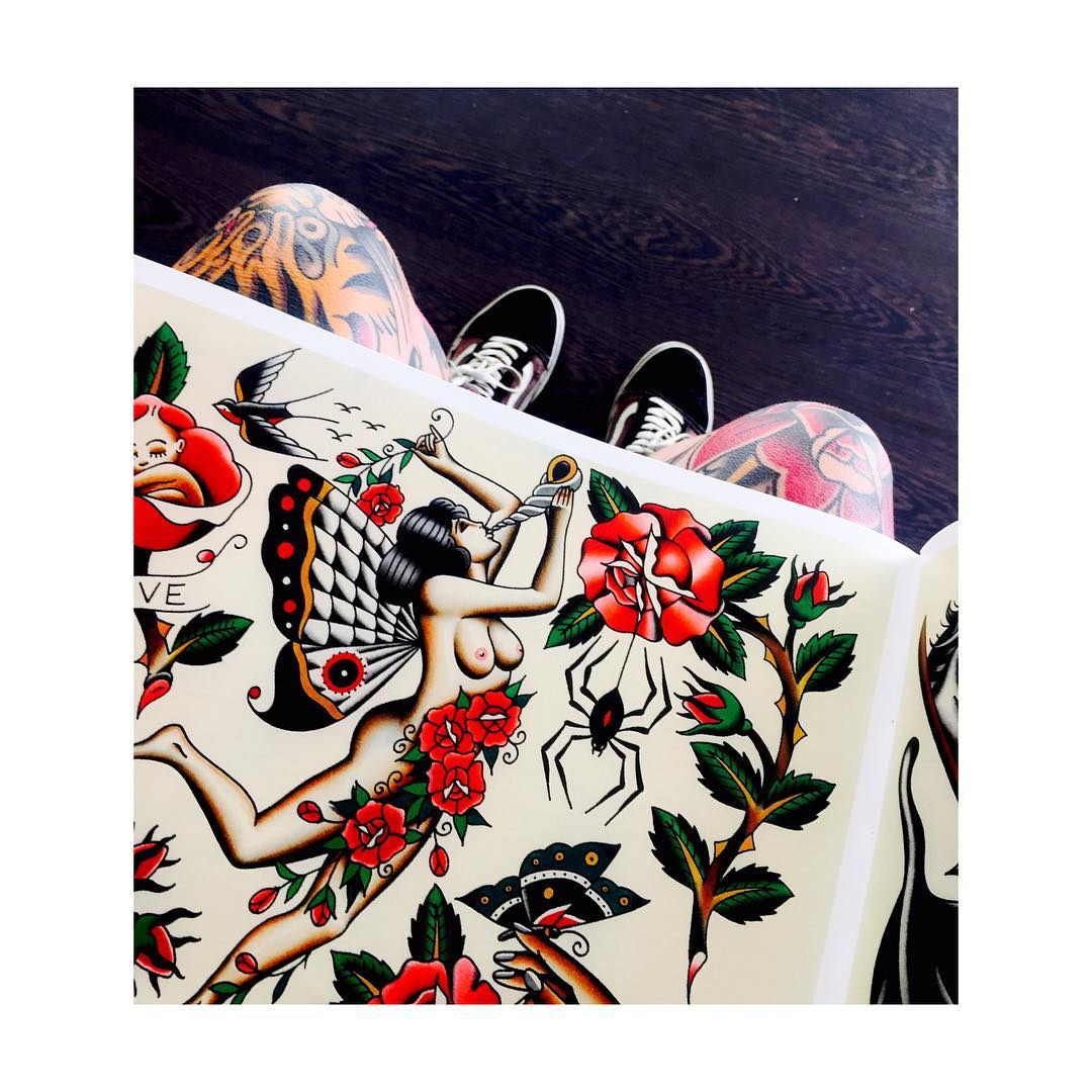 tattoos,flash,vigo,ciudadreal,juantabasco,theoldwaybook,jensen,tiger,oldschool,tradicionaltattoo
